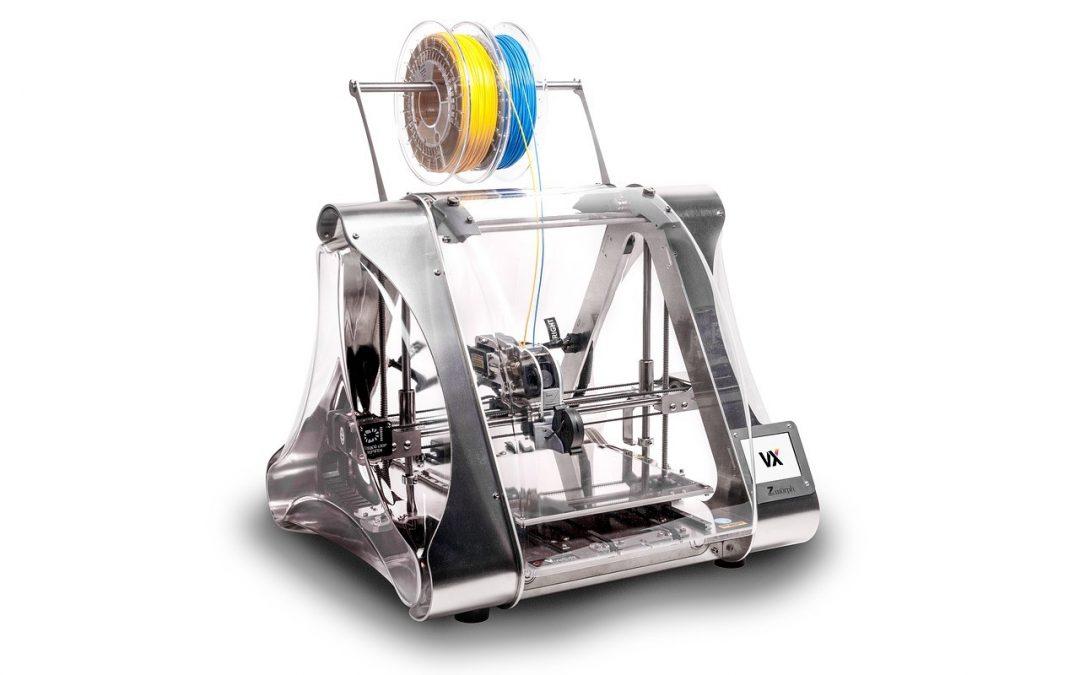 Een 3D printer op het bureaublad