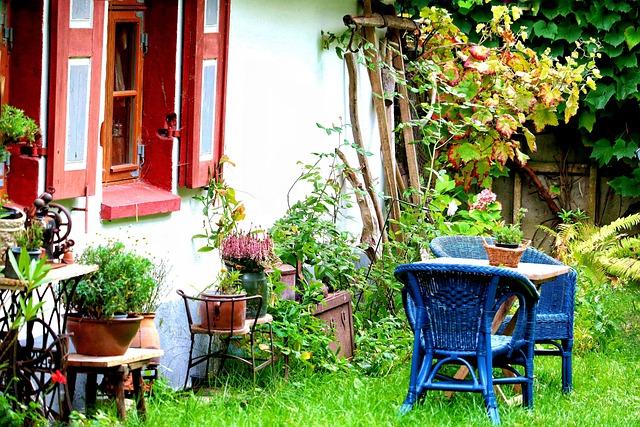 Tuinmeubelen goed schoonmaken